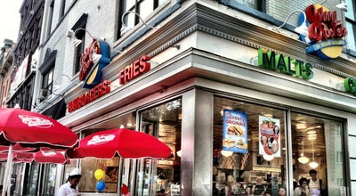 Photo of Diner Johnny Rockets at 134 Washington St, Hoboken, NJ 07030, United States