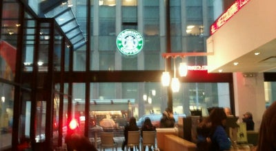 Photo of Coffee Shop Starbucks at 1185 Avenue Of The Americas, New York City, NY 10036, United States