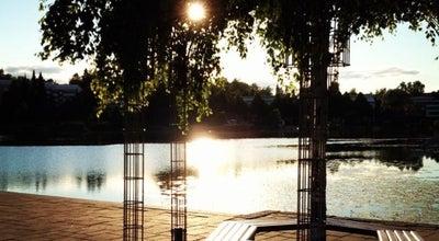 Photo of Lake Valkeisenlampi at Valkeisenkatu, Kuopio 70100, Finland