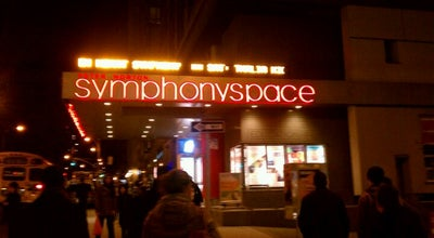 Photo of Theater Symphony Space at 2537 Broadway, New York, NY 10025, United States