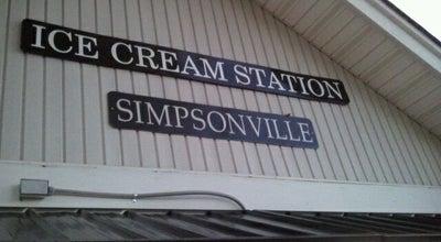 Photo of Ice Cream Shop Ice Cream Station at 125 S Main St, Simpsonville, SC 29681, United States