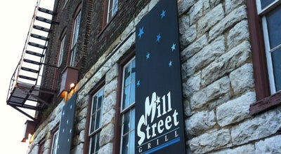 Photo of American Restaurant Mill Street Grill at 1 Mill St, Staunton, VA 24401, United States