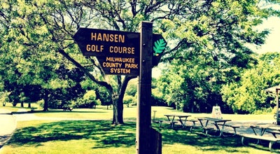 Photo of Golf Course Hansen Park Golf Course at 9800 Underwood Pkwy, Wauwatosa, WI 53226, United States