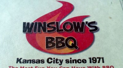 Photo of BBQ Joint Winslow's BBQ at 20 E. 5th Street, Kansas City, MO 64106, United States