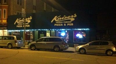 Photo of Pizza Place Kaiser's Pizza & Pub at 510 57th St, Kenosha, WI 53140, United States