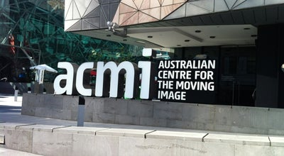 Photo of Museum Australian Centre for the Moving Image (ACMI) at Federation Square, Melbourne, VI 3000, Australia