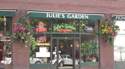 Photo of Chinese Restaurant Julie's Garden at 81 Yesler Way, Seattle, WA 98104, United States