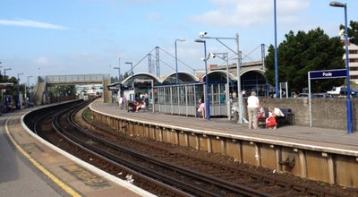 Photo of Train Station Poole Railway Station (POO) at Serpentine Rd, Poole BH15 2BQ, United Kingdom