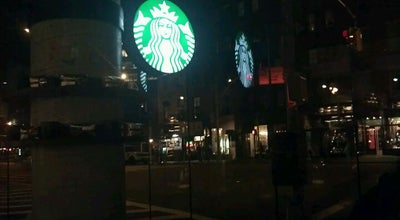 Photo of Coffee Shop Starbucks at 122 Greenwich Ave, New York, NY 10011, United States