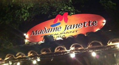 Photo of Caribbean Restaurant Madame Janette at Cunucu Abou 37, Oranjestad, Aruba