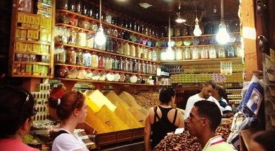 Photo of Flea Market Souks Marocains at Marrakech, Morocco