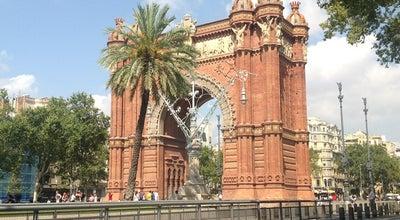 Photo of Monument / Landmark Arc de Triomf at Passeig De Lluís Companys, Barcelona 08003, Spain