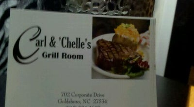 Photo of Steakhouse Carl and Chelle's Grill Room at 702 Corporate Dr, Goldsboro, NC 27534, United States