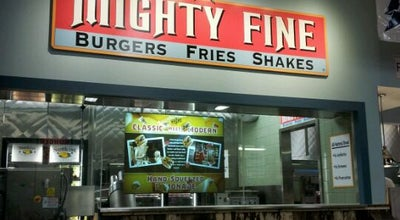 Photo of Burger Joint Mighty Fine Burgers at 201 University Oaks, Round Rock, TX 78665, United States