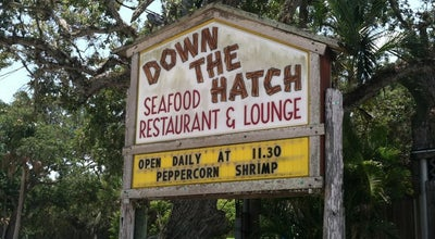 Photo of Seafood Restaurant Down The Hatch Seafood Restaurant at 4894, Ponce Inlet, FL 32127, United States