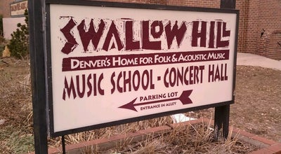 Photo of Music Venue Swallow Hill at 71 E Yale Ave, Denver, CO 80210, United States