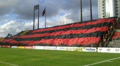 Photo of Soccer Stadium Estádio Adelmar da Costa Carvalho (Ilha do Retiro) at Av. Sport Club Do Recife, Recife 50720-705, Brazil