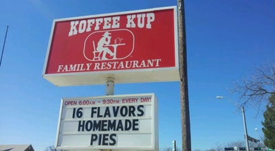 Photo of Diner Koffee Kup Family Restaurant at 300 W 2nd St, Hico, TX 76457, United States
