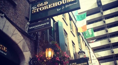 Photo of Pub The Old Storehouse at 3 Crown Alley, Temple Bar, Dublin 2, Ireland