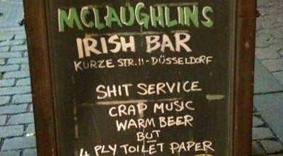 Photo of Irish Pub McLaughlins Irish Pub at Kurze Str. 11, Düsseldorf 40213, Germany