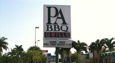 Photo of BBQ Joint Park Avenue BBQ & Grille of West Palm Beach at 2215 Palm Beach Lakes Blvd, West Palm Beach, FL 33409, United States
