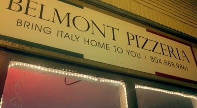 Photo of Pizza Place Belmont Pizzeria at 602 N Belmont Ave, Richmond, VA 23221, United States
