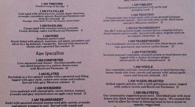 Photo of Vegetarian / Vegan Restaurant Café Gratitude at 1730 Shattuck Ave, Berkeley, CA 94709, United States
