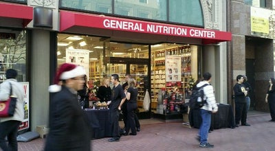 Photo of Health Food Store GNC at 722 Market St, San Francisco, CA 94102, United States