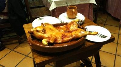 Photo of Spanish Restaurant Restaurante José María at C. Cronista Lecea, 11, Segovia 40001, Spain