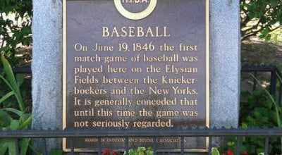 Photo of Baseball Field Baseball Diamond at Washington St., Hoboken, NJ 07030, United States