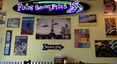 Photo of Pizza Place Flying Saucer Pizza at 14712 Ne 91st St, Redmond, WA 98052, United States
