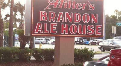 Photo of American Restaurant Miller's Brandon Ale House at 1817 W Brandon Blvd, Brandon, FL 33511, United States