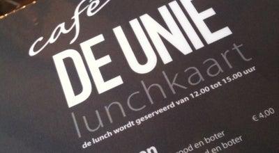 Photo of Cafe Café de Unie at Kardinaal Van Rossumplein 15, 's-Hertogenbosch 5211 RV, Netherlands