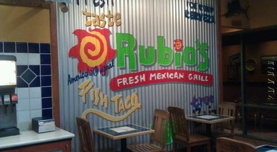 Photo of Mexican Restaurant Rubio's at 3406 College Ave, San Diego, CA 92115, United States