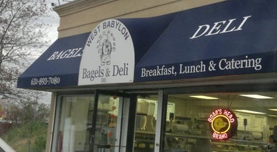 Photo of Bagel Shop West Babylon Bagels & Deli at 581 Route 109, West Babylon, NY 11704, United States