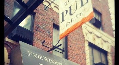 Photo of Bar Josie Wood's Pub at 11 Waverly Pl, New York, NY 10003, United States
