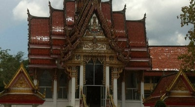 Photo of Buddhist Temple วัดมหัตตมังคลาราม (วัดหาดใหญ่ใน) (Wat Hat Yai Nai) at Phet Kasem Soi 22, Hat Yai 90230, Thailand