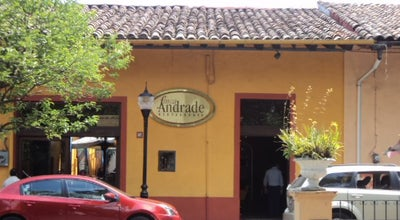 Photo of Mexican Restaurant Finca Andrade at Miguel Lerdo 5, Coatepec 91500, Mexico