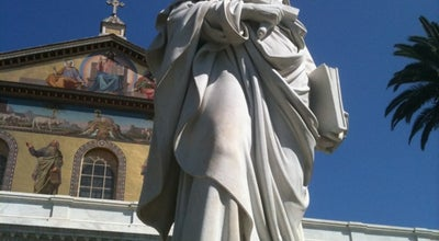 Photo of Church Basilica di San Paolo fuori le Mura at 186 Via Ostiense, Roma 00146, Italy