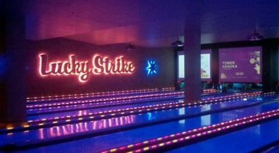Photo of Bowling Alley Lucky Strike New York at 624-660 W 42nd St, New York, NY 10036, United States