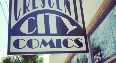 Photo of Bookstore Crescent City Comics at 4916 Freret St, New Orleans, LA 70115, United States