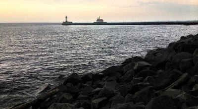 Photo of Beach Lakewalk along Lake Superior at 436 Canal Park Dr, Duluth, MN 55802, United States