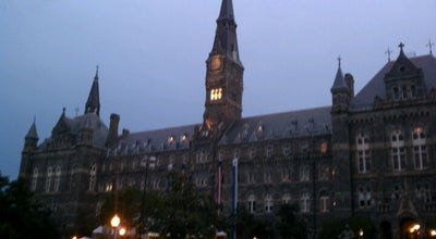 Photo of College Academic Building Healy Hall, Georgetown University at 3700 O St Nw, Washington, DC 20057, United States