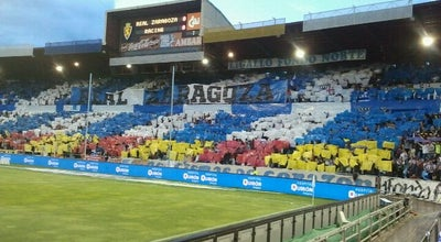Photo of Soccer Stadium La Romareda at C/ De Miguel Asín Y Palacios, 11, Zaragoza 50009, Spain