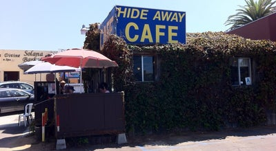 Photo of American Restaurant Hideaway Cafe at 150 S Acacia Ave, Solana Beach, CA 92075, United States