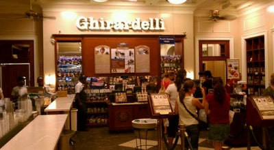 Photo of Chocolate Shop Ghirardelli Ice Cream & Chocolate Shop at 830 N. Michigan Ave., Chicago, IL 60611, United States