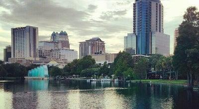Photo of Park Lake Eola Park at 195 N Rosalind Ave, Orlando, FL 32801, United States