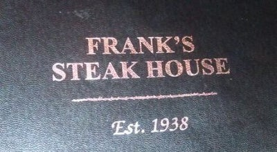 Photo of Steakhouse Frank's Steak House at 2310 Massachusetts Ave, Cambridge, MA 02140, United States