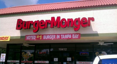 Photo of Burger Joint Burger Monger at 10412 N Dale Mabry Hwy, Tampa, FL 33618, United States