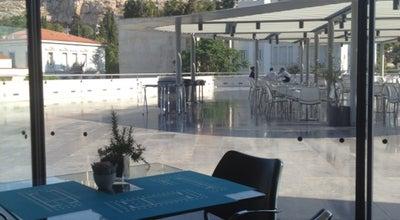 Photo of Cafe Καφέ & Εστιατόριο Μουσείου Ακρόπολης (Acropolis Museum Cafe Restaurant) at Διονυσίου Αρεοπαγίτου 15, Αθήνα 117 42, Greece